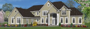Steeplechase model home