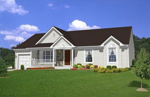 franklin rancher model home
