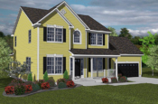 harvard model home
