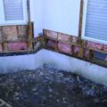 Area 3 after removal of deteriorated sheathing