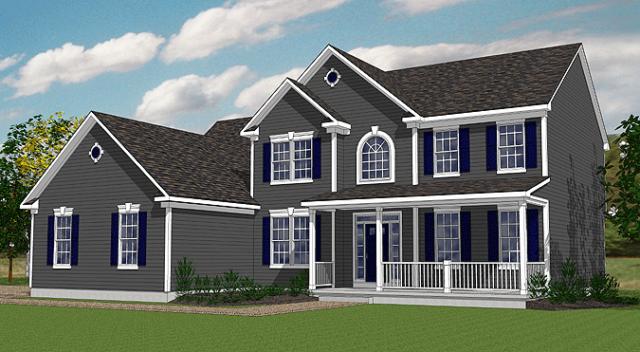 Stonebrooke model home