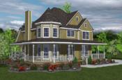 Victorian model home