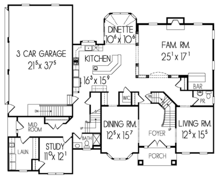 Steeplechase 1st floor plan