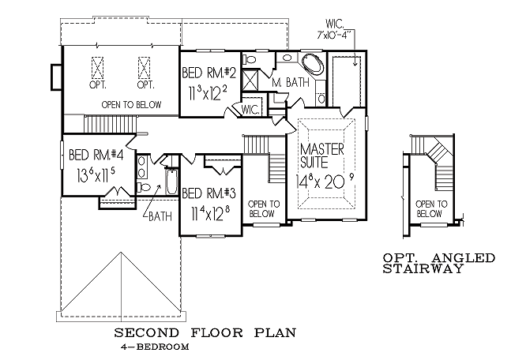 Stonebrooke 2nd floorplan
